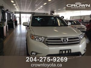 2012 TOYOTA HIGHLANDER LE V6 AWD 7 PASS! ONE OWNER, LOCAL TRADE