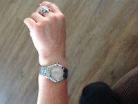 Ladies Tag Heuer aqua racer diamond set