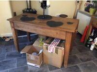 Victorian scrub table