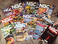 Various Nintendo NGC magazines