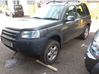 Breaking Land Rover Freelander td4