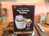 Ice cream maker ( brand new )