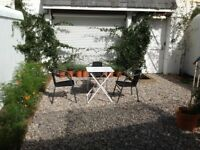 Beautiful 3 bed maisonette with garden, central Kemptown close to seafront for rent. Bills included