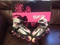 Children's SFR Vortes Rollerblade In-Line Skates.size uk 12-2