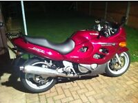 SUZUKI GSX750F WINTER BARGAIN ONLY 14000 MILES!!!!!!!!!!!LONG MOT WITH EXTRAS
