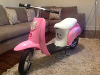 Razor Electric Moped / Scooter (pink)