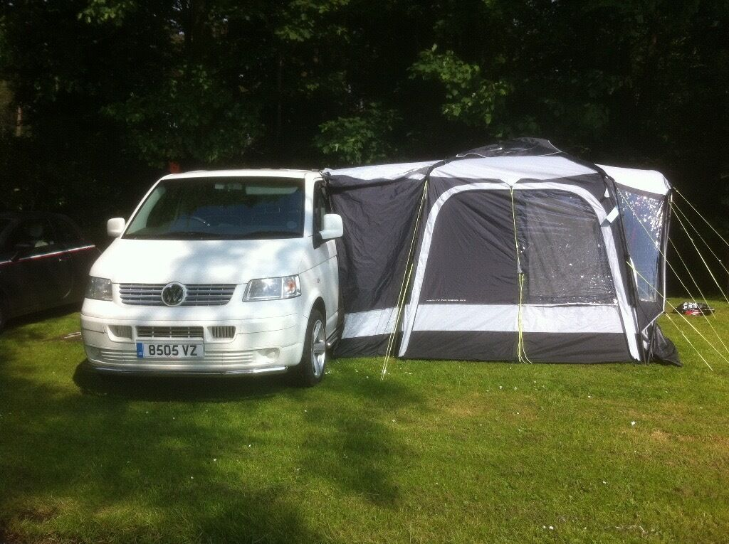 VW Transporter T5 Camper van and Drive Away Awning | in ...