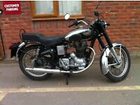 Royal Enfield 350cc Bullit DeLuxe, 1993 ,Drum brake model fast becoming collectable .£1,400 ONO