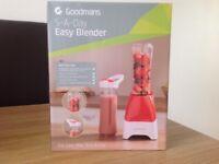 Goodmans brand new 5 a day easy blender