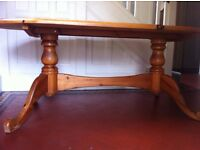 Extra Large Solid Wood Refectory Kitchen Farmhouse Dining Table / Can Deliver