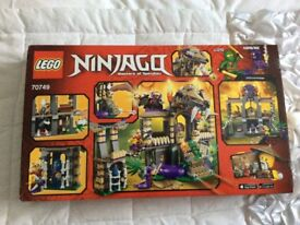 LEGO 70749 NINJAGO MASTERS OF SPINJITZU