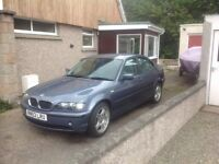 BMW 316i, Low miles, great runner 4 months MOT