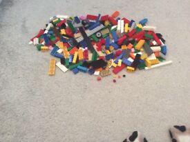 Original lego 200 pieces
