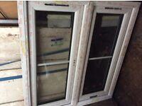 UVPC window 90cm x 97 cm one window opens