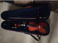 Three quarter size violin