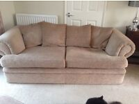 Settees, 2 and 3 seater plus armchair