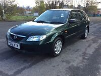 MAZDA 323 GXI 1.6 PETROL 5DOOR HATCHBACK FULL 12 MONTHS MOT EXCELLENT CONDITION