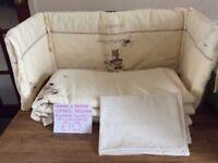 Mamas & Papas Zeddy & Parsnip Cotbed Bedding Set