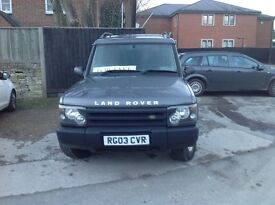 Very tidy well maintained diesel Land Rover Discovery