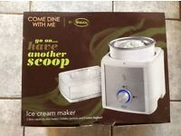 Brand new ice cream maker by swan