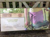 New Gardeners Mate garden fold away kneeler