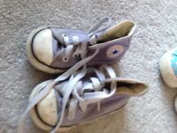 Bundle of size 5 girls shoes