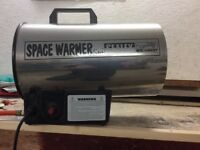 Sealey Space Heater Warmer Large Full Calor Gas fire bottle included