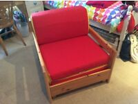Chair to Child's Fold Out Bed