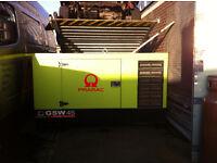 PRAMAC GSW 45 kVA Three Phase Perkins Diesel Generator £5500 O.N.O