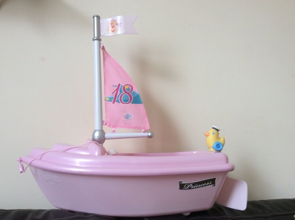 Zapf Creations Baby Born boat
