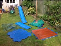 Climbing frame and slide accessories