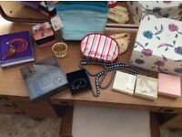Perfume and boxed jewellery
