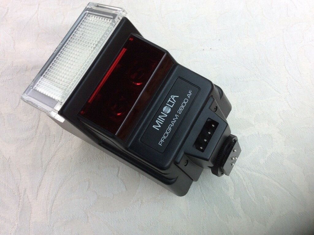 Minolta Flash for camera