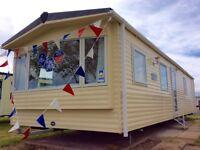 Top ABI static caravan 2 bed 3 Years Site Fees INCLUDED at seawick clacton essex suffolk kent london