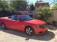 SAAB Convertible - Wind Deflector (see picture of car with it in situ)
