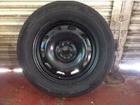 Golf Mk4 Gti Used Spare Wheel And Tyre 195/65r15 Michelin Pilot HX