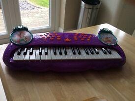 Purple Ariel keyboard