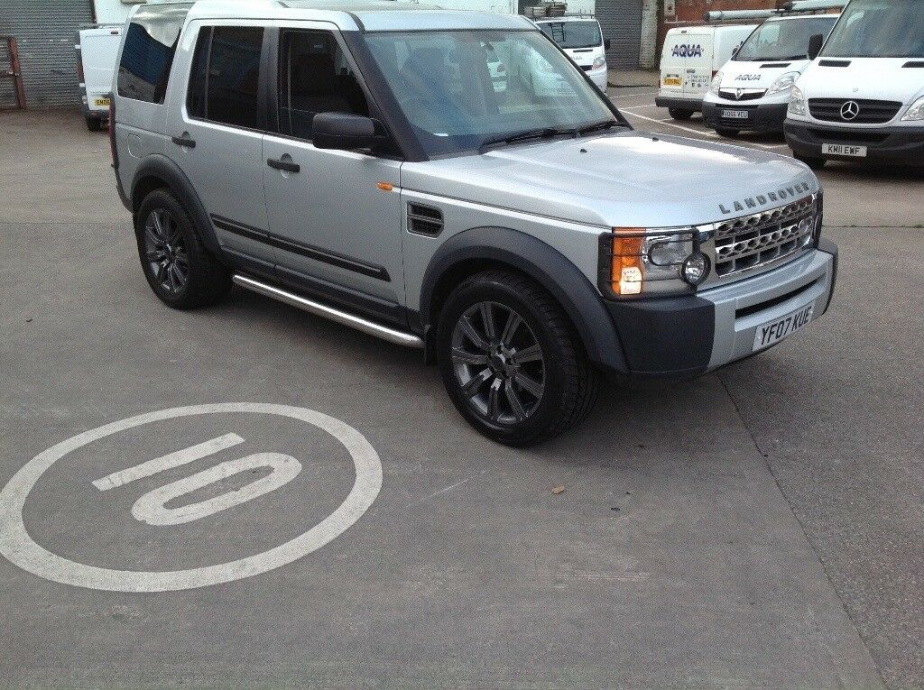 LANDROVER DISCOVERY 3 2.7 TDV6 2007 SILVER £6500 MAY PX?