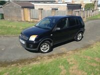 06 Ford Fusion 1,4 tdci zetec black mot low tax low insurance services history £999
