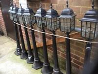 9 Tall rockingham lights