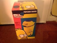 Brand new Simpsons popcorn maker.