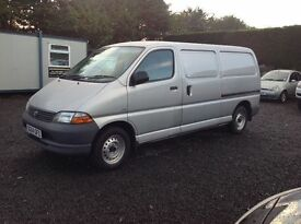 2004 Toyota Hiace GS d4d long wheel base +++ PSVD 1 year +++ fully serviced ++++ only 112k miles ++