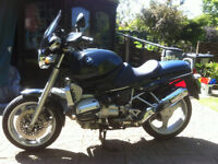 BMW R1100R Motorcycle, ready to tour
