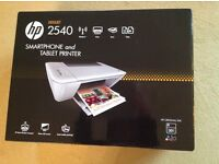 Hp Deskjet 2540 Wireless Printer, Scanner & Copier.