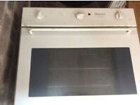 Hot point gas hob electric oven and hood in excellent condition must see you must arrange transport.