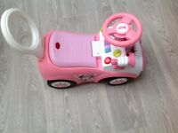 Minnie Mouse Activity Ride On Car