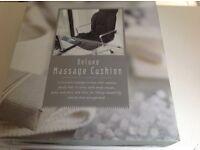 Deluxe massage cushion