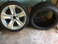 Michelin 255/ 35 ZR 18 Runflat High Performance Tyres New