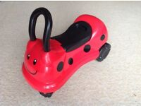 ELC ride-on Ladybird