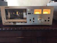Pioneer tape deck .